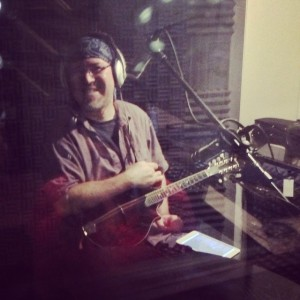 Appearing on CKCU Radio in the summer of 2014