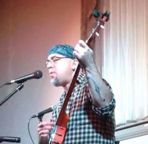 Performing at a Spirit of Rasputin's event